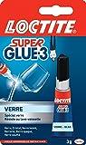 Loctite Super Glue-3 Spécial Verre 3 g