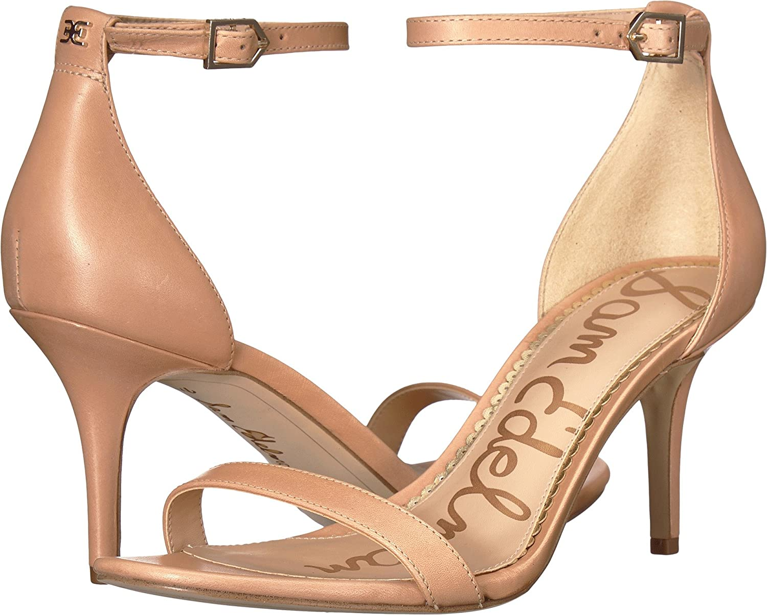 Sam Edelman Women's Patti Dress Sandal B078WGLJLD 10 B(M) US|Buff Nude Vaquero Saddle Leather