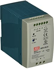 """MEAN WELL MDR-100-24 AC to DC DIN-Rail Power Supply, 24V, 4 Amp, 96W, 1.5"""""""