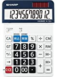 シャープ セミデスクトップ電卓 12桁 EL-156HX