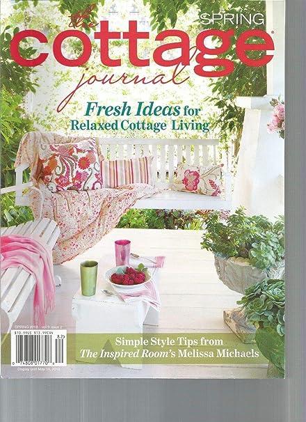 Stupendous Amazon Com The Cottage Journal Springn 2018 Vol 9 Download Free Architecture Designs Pushbritishbridgeorg
