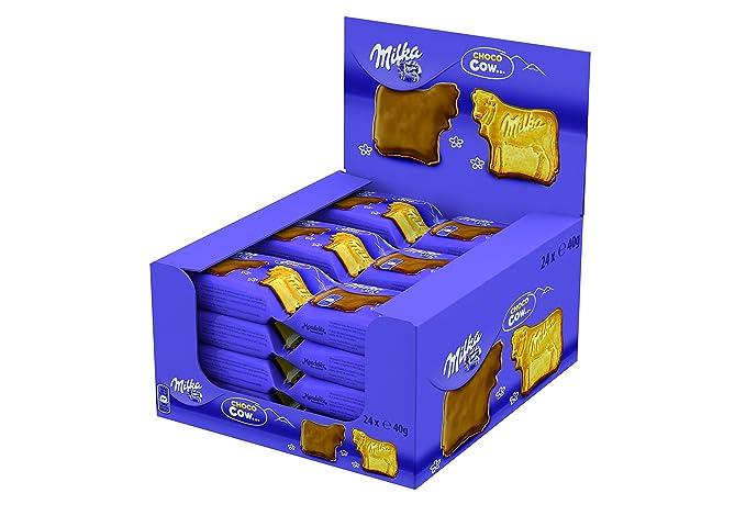 Milka - Galleta de chocolate - con leche - 40 g