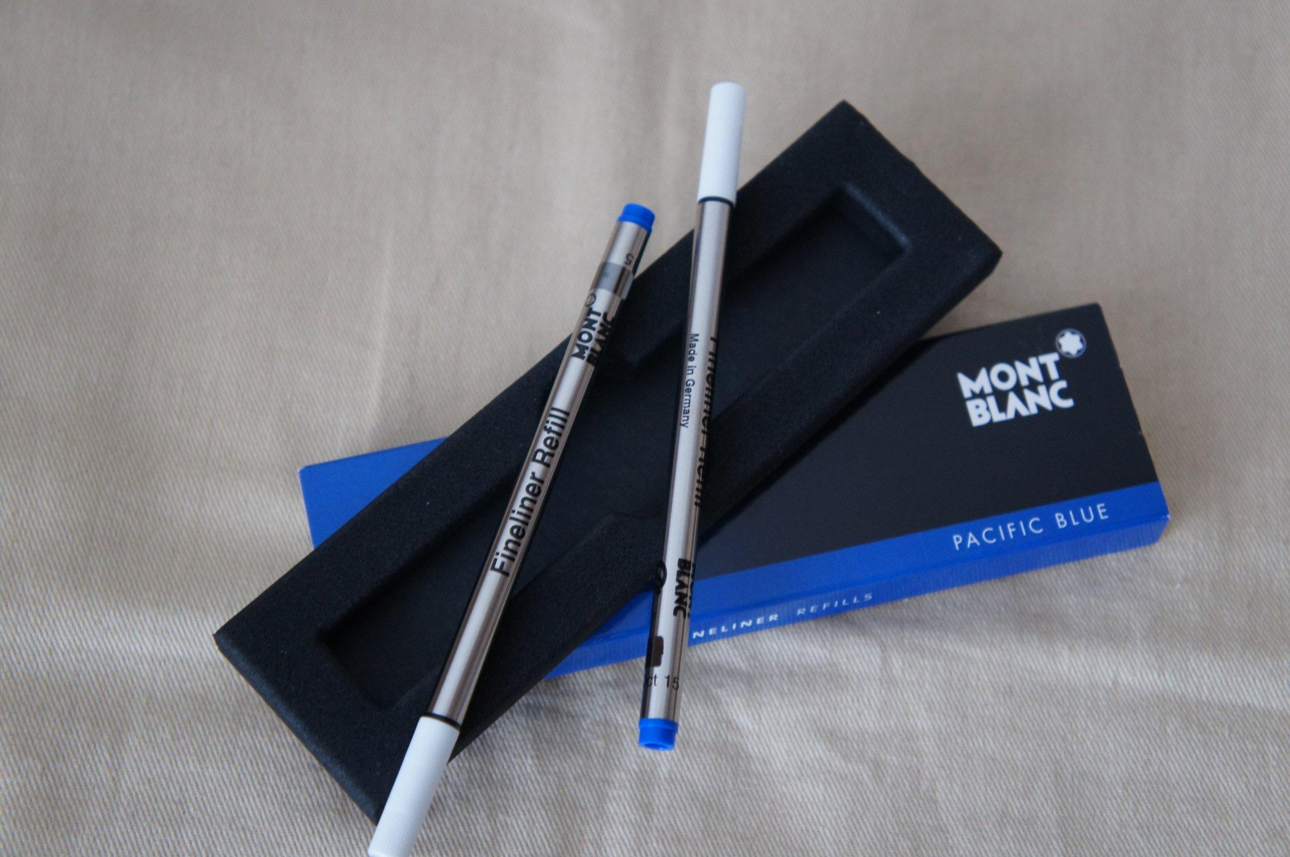 Montblanc Fineliner Pen Refill Blue Pack of 2