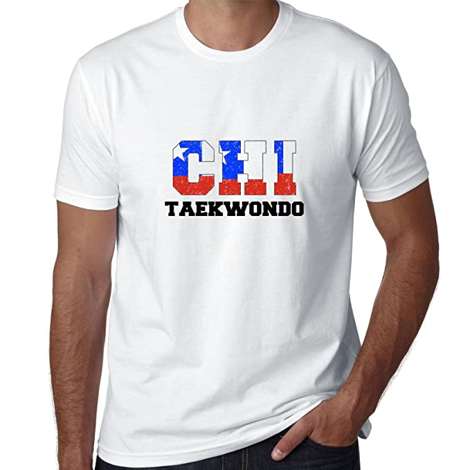 Chile bandera de TAEKWONDO – Juegos Olímpicos – Río – Camiseta para hombre