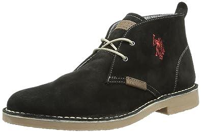 US Polo Assn Amadeus 2, Chaussures montantes homme - Noir (Blk), 42 8dbd0e64bcf3