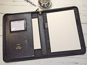 Leather letter writing set