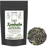 Custom Five-Tea Loose Leaf Kombucha Tea Blend (8 ounces); Handblended Custom Blend of Black, Green, White, Rooibos & Yerba Mate Tea for Brewing Kombucha (5-Tea Special Blend)