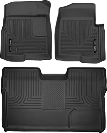 Black Coverking Front Custom Fit Floor Mats for Select Volkswagen Passat Models 70 oz Carpet