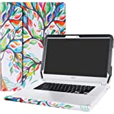 """Alapmk Protective Case Cover For 15.6"""" Acer Chromebook 15 C910/CB5-571/CB3-531 Series Laptop [Warning:Not fit Acer Chromebook 15 CB3-532 CP315 CB315-1H Series],Love Tree"""