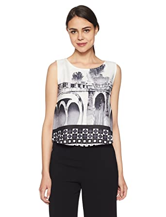 Elle by Unlimited Women's Body Blouse Top Women's Tops at amazon