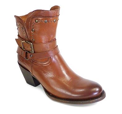 bccfa0ee46526b Westernwear-Shop Damen-Westernstiefelette Marina Cowboystiefel BZW. Cowboy  Boots   Bikerstiefel Westernstiefel Stiefeletten