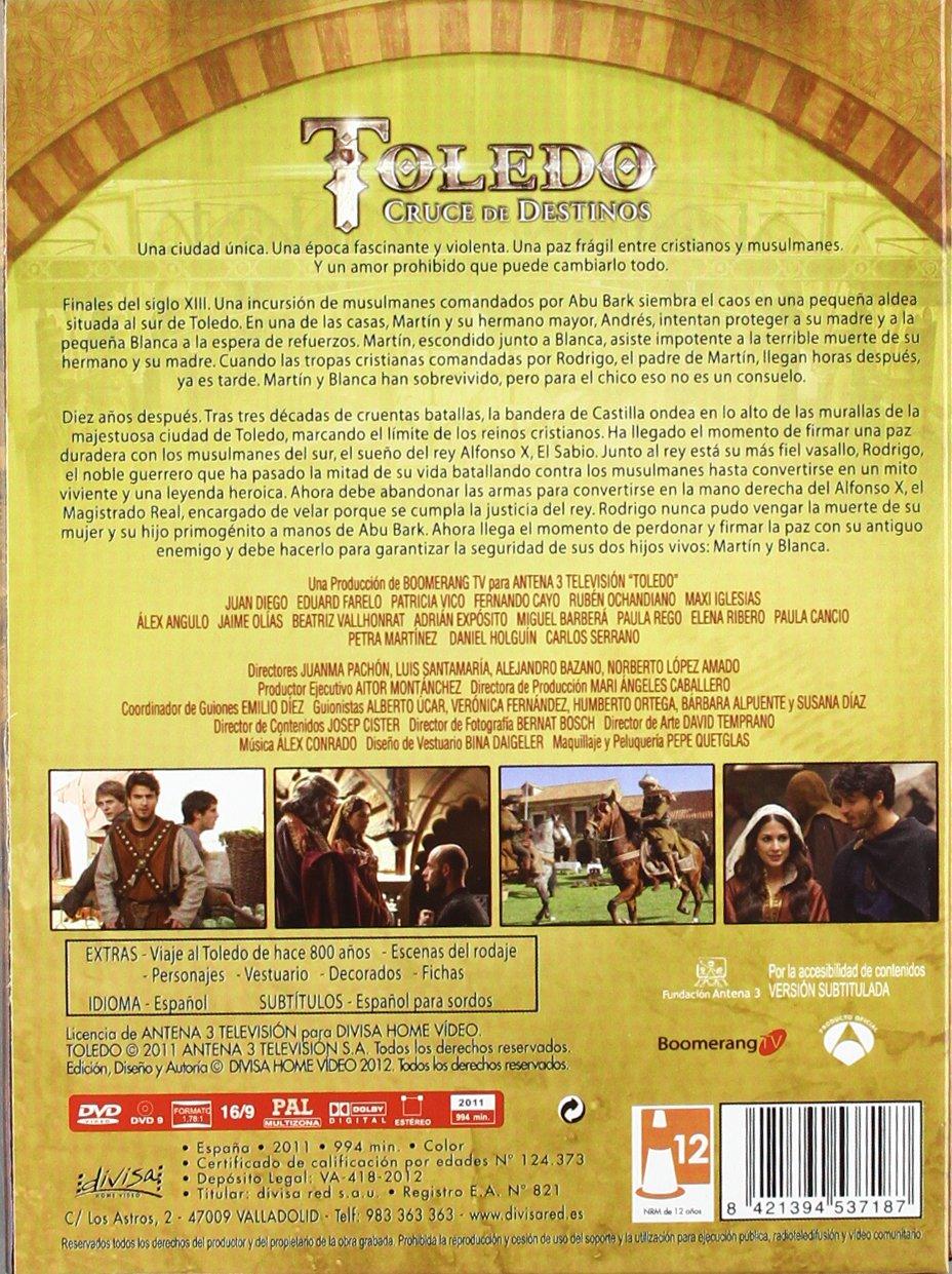 Toledo Cruce De Destinos [DVD]: Amazon.es: Juan Diego, Eduard ...