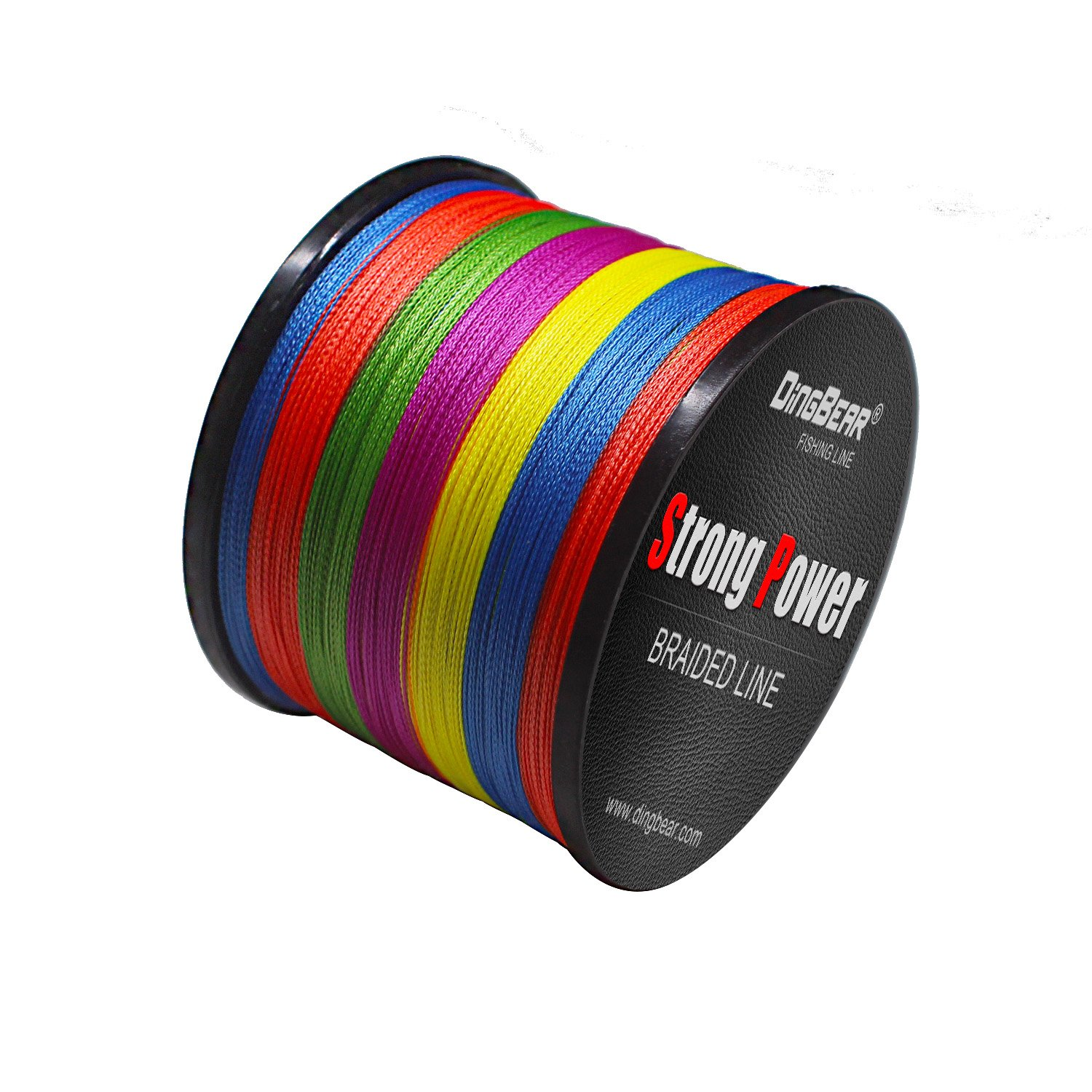 Dingbear 1093Yd//1000m 135LB//0.60mm Multicolored Rainbow Super Strong Pull Generic Braided Fishing Line Kite Line Woven Network Cable Cast Super Strength Fishing Line