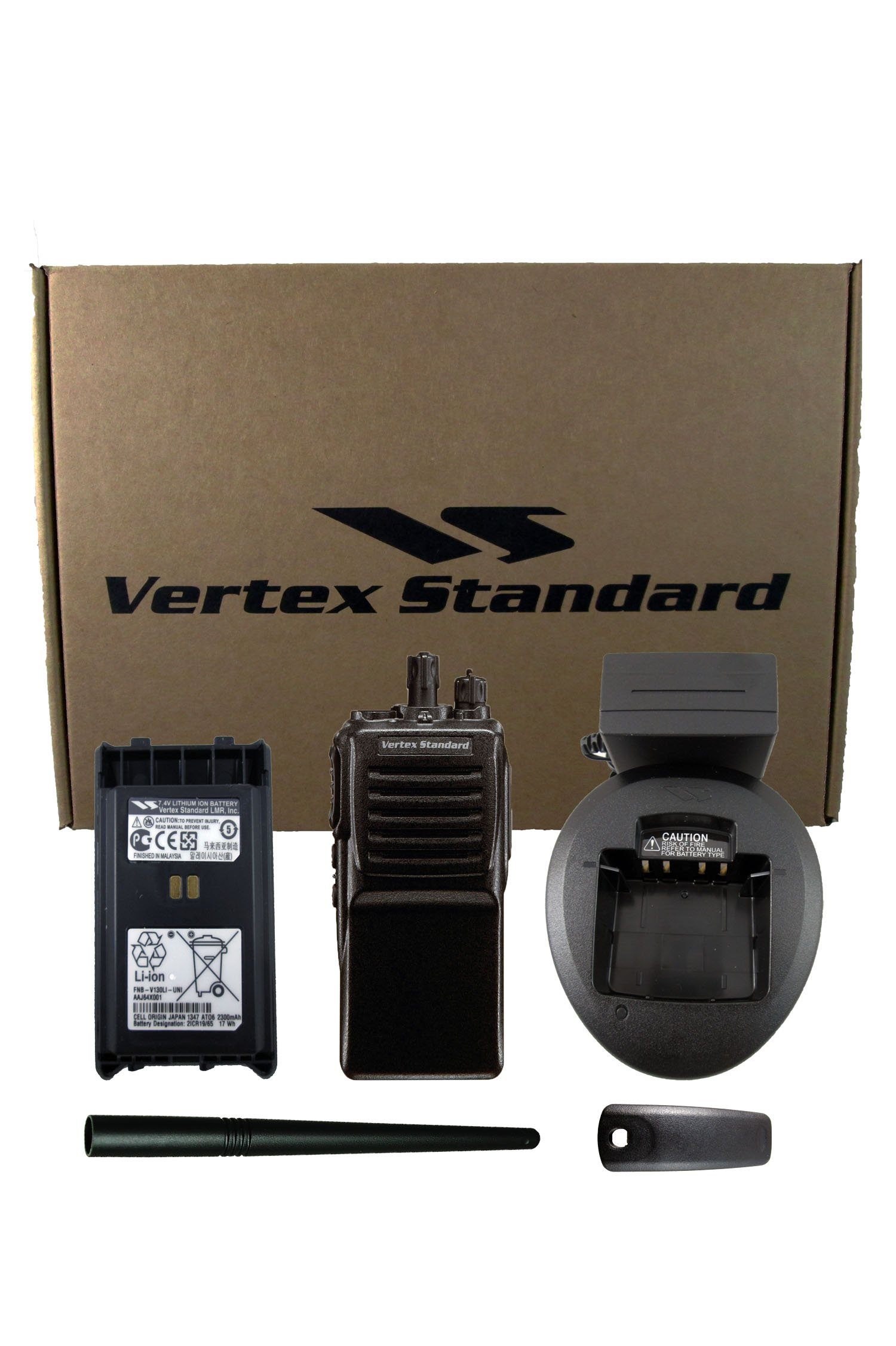 Vertex VX-351 VHF Two-Way Radio with Accessories (134-174MHz) by Vertex (Image #1)