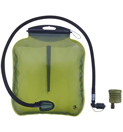 Source Tactical ILPS 3L Low Profile Hydration System Upgrade Kit with  Universal Tube Adaptor (Black e7671705ac9e