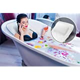 Luxury Full Body Bath Cushion with Raised Pillow | Premium Bathtub Cushioned Bath Bed Spa Mat To Relax In Comfort