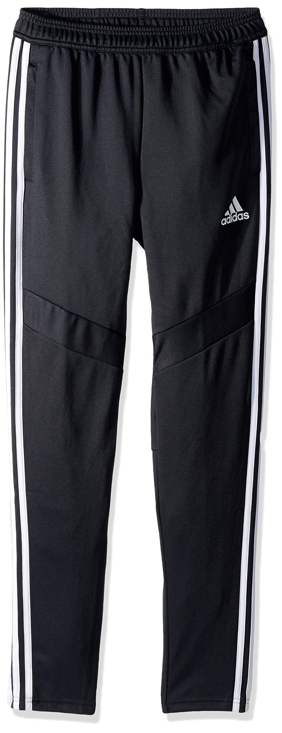 adidas Youth Tiro19 Youth Training Pants, Dark Grey/White, XX-Small