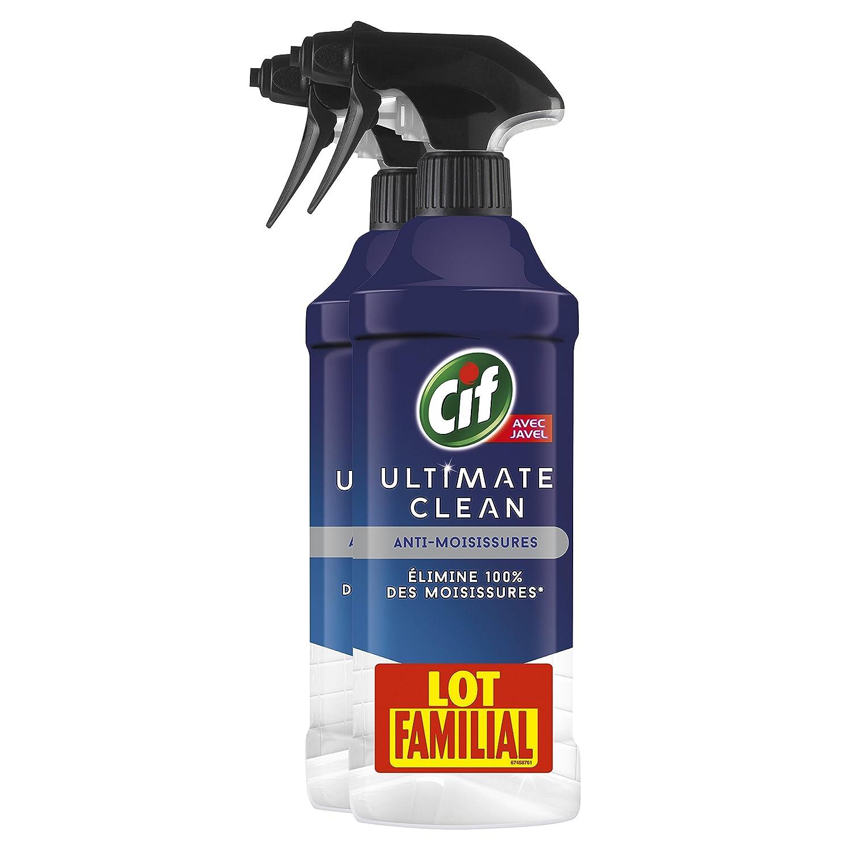 Cif Anti-Mould Spray Gun Cleaner Ultimate Clean 435ml Set of 2 67436283