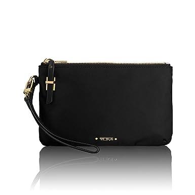 72c601c4c0 Amazon.com  TUMI Voyageur Abilene Double Zip Pouch Clutch Wristlet Wallet  for Women