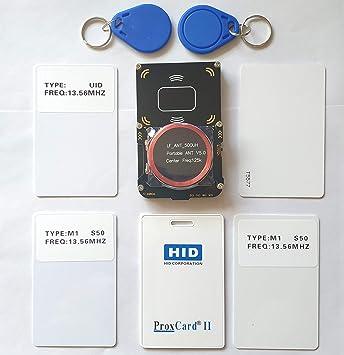 SETCTOP Proxmark3 V3 EASY3.0 Kit NFC RFID Lector de Grabador ...