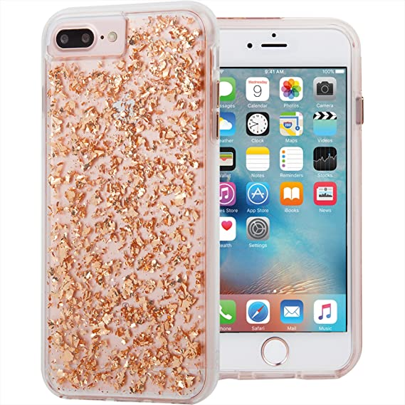 quality design 14116 0cfd7 Case-Mate CM034768X Karat Case for iPhone 8 Plus/7 Plus/6s Plus/6 Plus -  Rose Gold