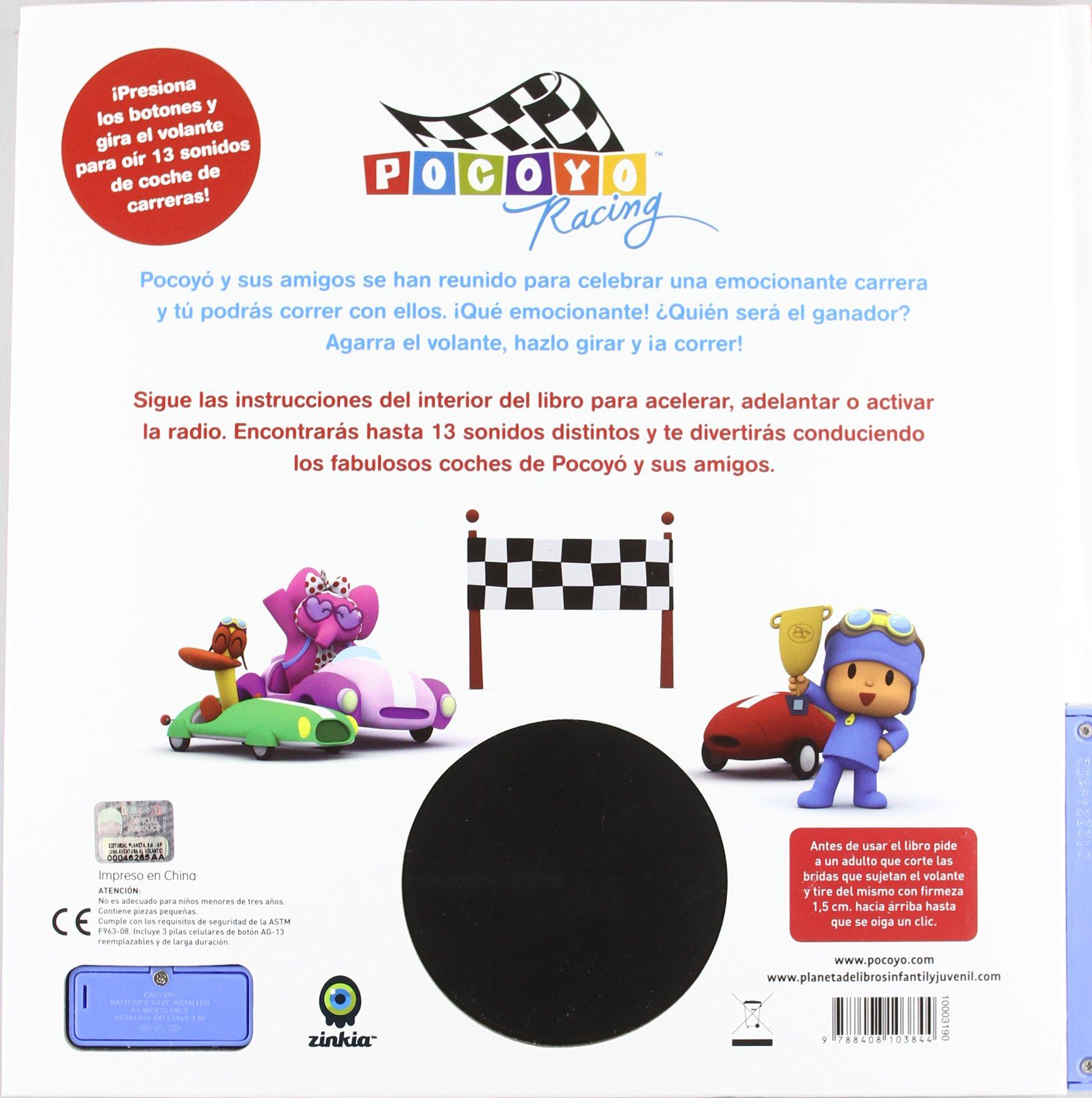Pocoyó. ¡Una aventura al volante!: Zinkia: 9788408103844: Amazon.com: Books