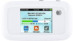 ZTE Velocity 4G LTE Mobile WiFi Hotspot GSM Unlocked - White