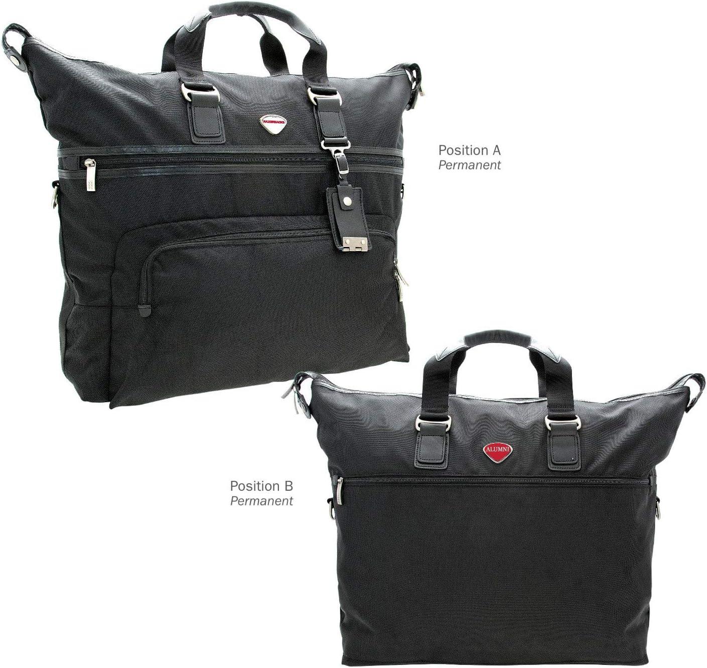 AdSpec NCAA Arkansas Razorbacks Collegiate Executive Weekender Duffel BagCollegiate Executive Weekender Duffel Bag One Size Black
