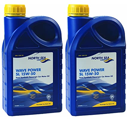 2 x mar del norte lubricantes® Wave Power SL Semi sintético coche ...
