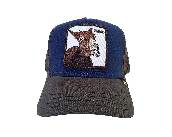 Goorin Brothers Unisex Animal Farm Snap Back Trucker Hat Royal Dumbass One  Size c1aad03ccc91