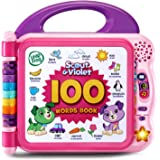Leapfrog Scout and Violet 100 Words Book Bilingual, Amazon Exclusive, Purple