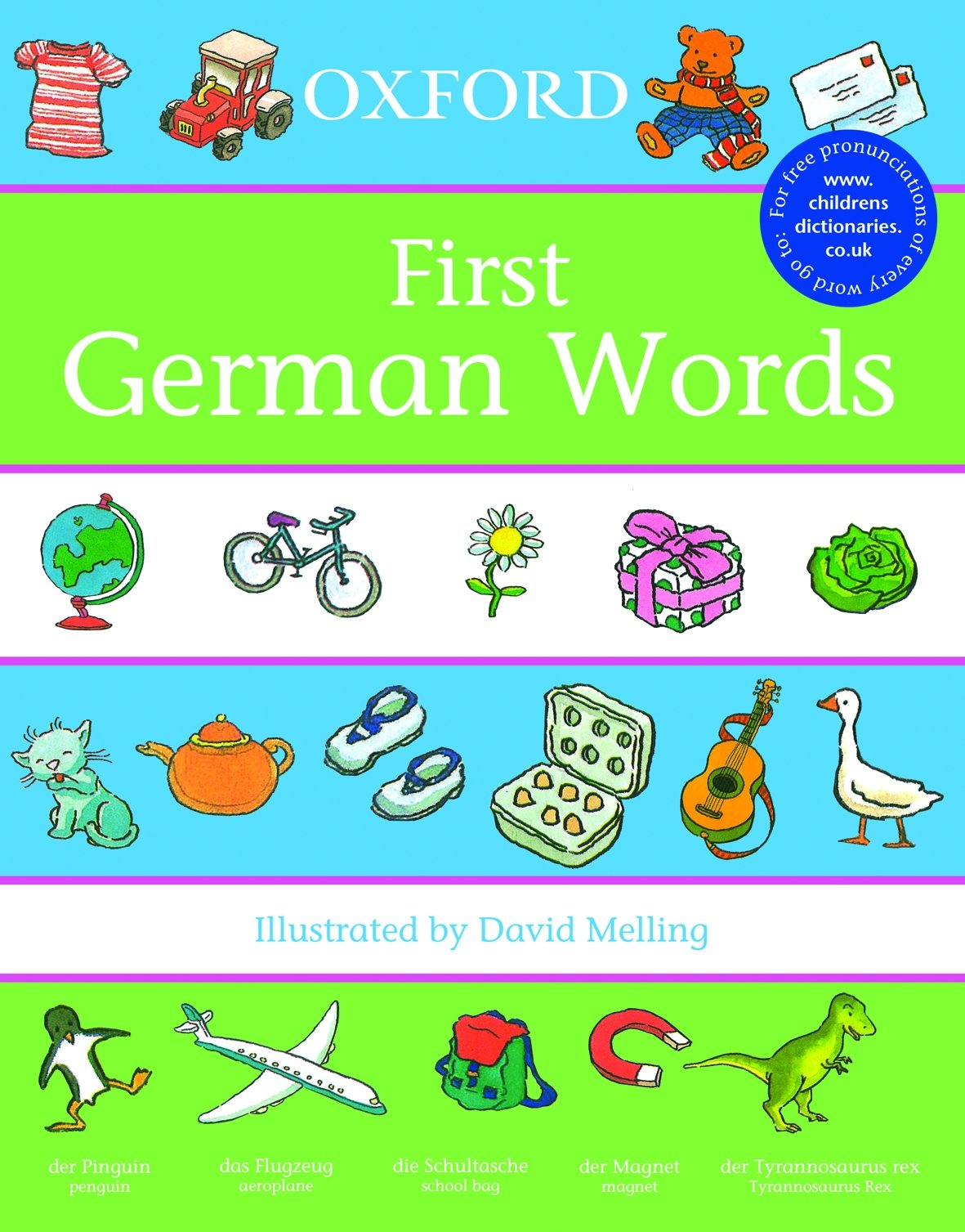 Oxford First German Words (First Words): Amazon.co.uk: Morris, David ...