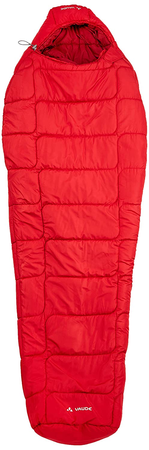 One Size Vaude  Sioux 800 SYN Womens Outdoor Left Zip Sleeping Bag available in Dark Indian Red