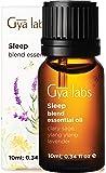 Gya Labs Sleep Essential Oil Blend - Lavender & Ylang Ylang for Good Night Sleep & Stress Relief (10ml) - 100% Pure…