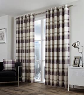 Ashley Wilde Carnaby Chintz Made Eyelet Ring Fully Lined Curtains ...