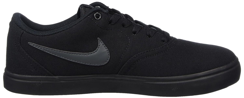 big sale 5b3ff 8ae9c Nike Sb Check Solar Cnvs, Chaussures de Skate Homme, Noir (Black (noir /  anthracite)), 45.5 EU: Amazon.fr: Chaussures et Sacs