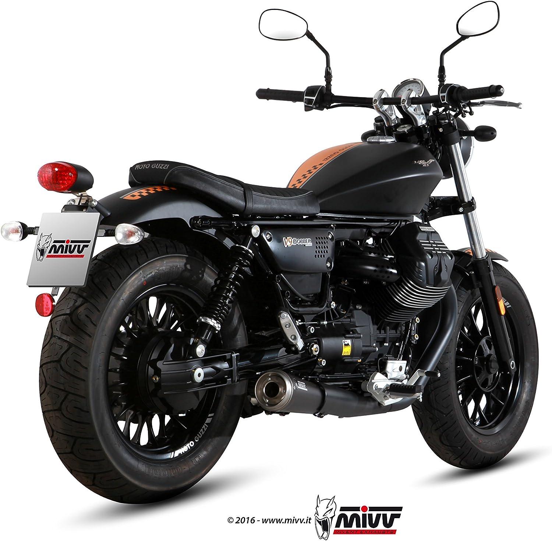Silenziatori Mivv M 011 Sgb Ghibli Inox Lucido Moto Guzzi V9 Bobber Roamer Amazon It Auto E Moto