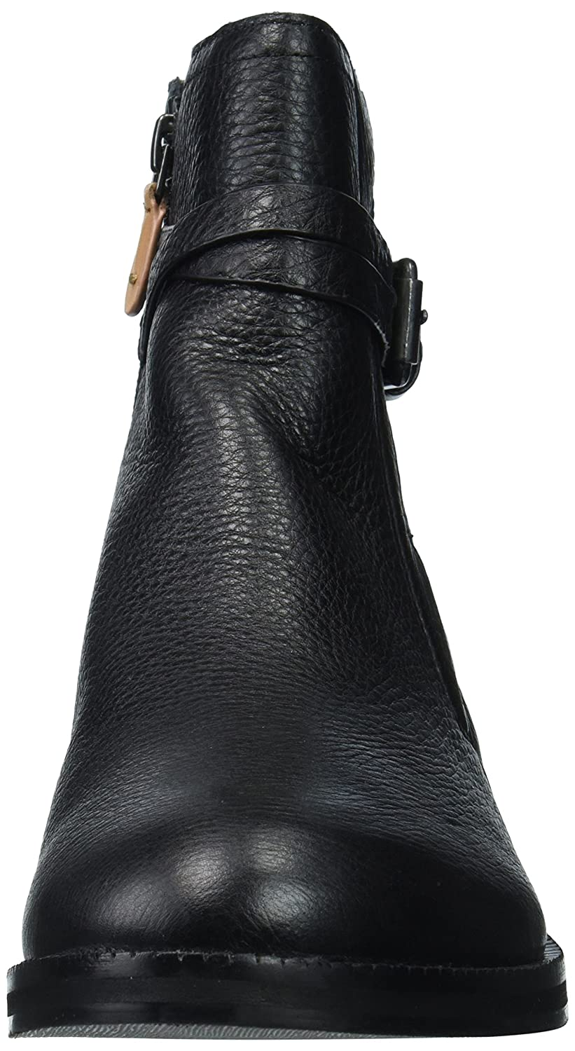 Gentle Souls Women's Percy Bootie with Buckle Detail Ankle Boot B06XXLSH7Y 8 B(M) US|Black