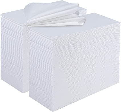 Durable Decorative Hand Towels for Bathroom Dinners or Events Parties 200 Pack Disposable Guest Towels Linen-Feel Paper Hand Towels for Guest Bathroom Weddings