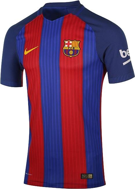 NIKE FCB M SS Hm Vapor Match JSY - Camiseta Línea F.C. Barcelona Hombre: Amazon.es: Ropa y accesorios
