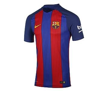 Nike FCB M SS Hm Vapor Match JSY Camiseta Línea F.C. Barcelona, Hombre: Amazon.es: Deportes y aire libre