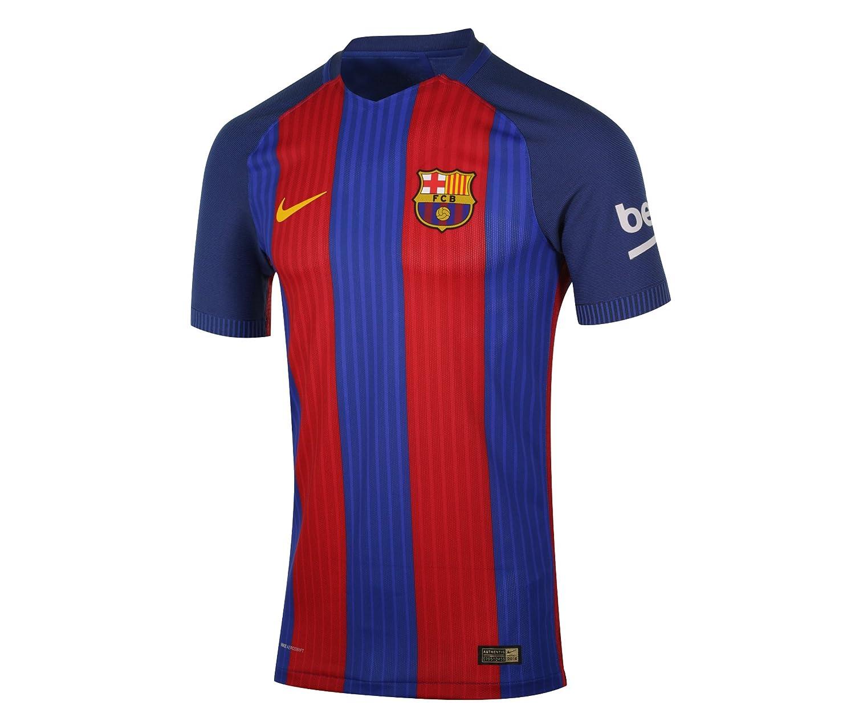Nike FCB M SS Hm Vapor Match JSY - Camiseta Línea F.C. Barcelona ...