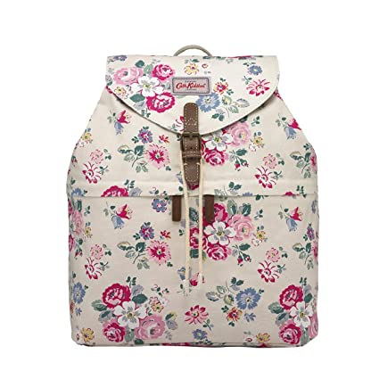 6d7da53c7c Image Unavailable. Image not available for. Color  Cath Kidston Canvas  Buckle Backpack ...