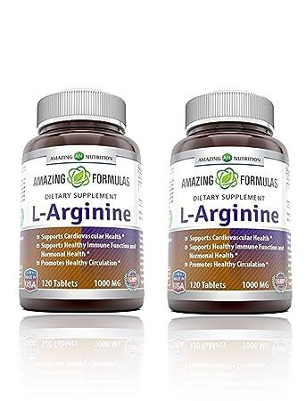 amazing formulas l arginine 1000mg supplement best amino acid arginine hcl supplements for women