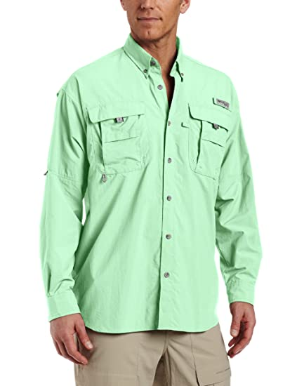 44affabdc3e Image Unavailable. Image not available for. Color  Columbia Men s PFG  Bahama II Long Sleeve Shirt ...