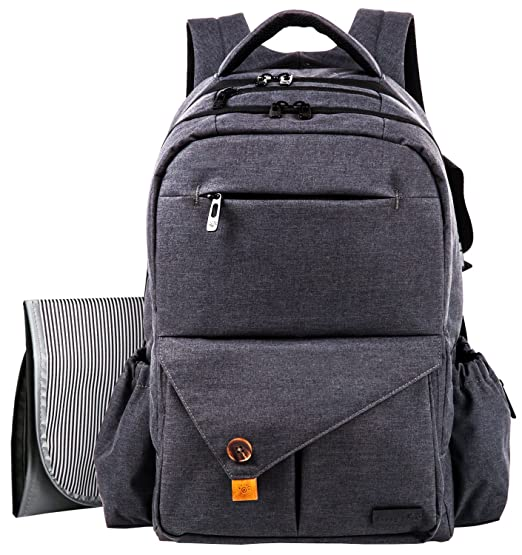 HapTim Multi-function Large Baby Diaper Bag Backpack