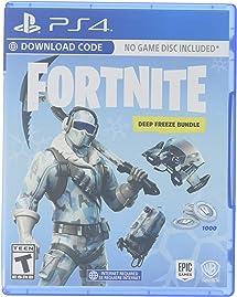Warner Bros Fortnite Deep Freeze Bundle Playstation Amazon Com