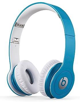 Beats By Dr. Dre Solo HD - Auriculares de diadema abiertos (con micrófono, control remoto integrado), azul claro: Amazon.es: Electrónica