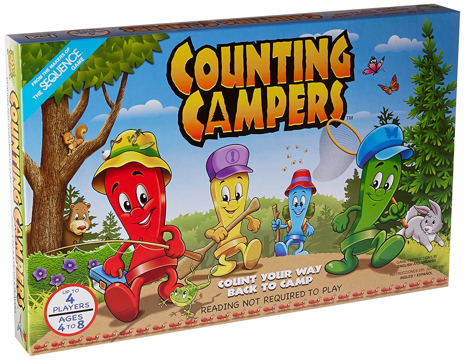 Amazon Jax Counting Campers Board Game Toys Games