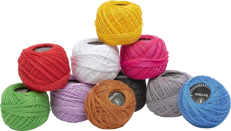 Katia Amigurumi - Farbe: Colores 501-510 (S05) - 10 g / ca. 33 m ...   859x1500
